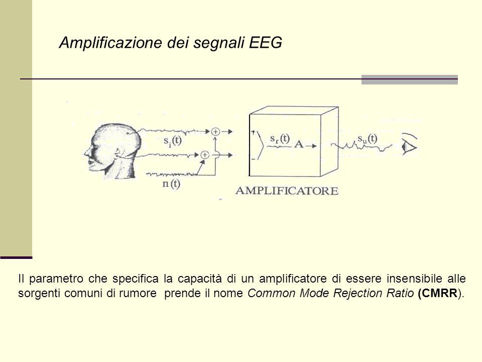 Amplificazione dei segnali EEG