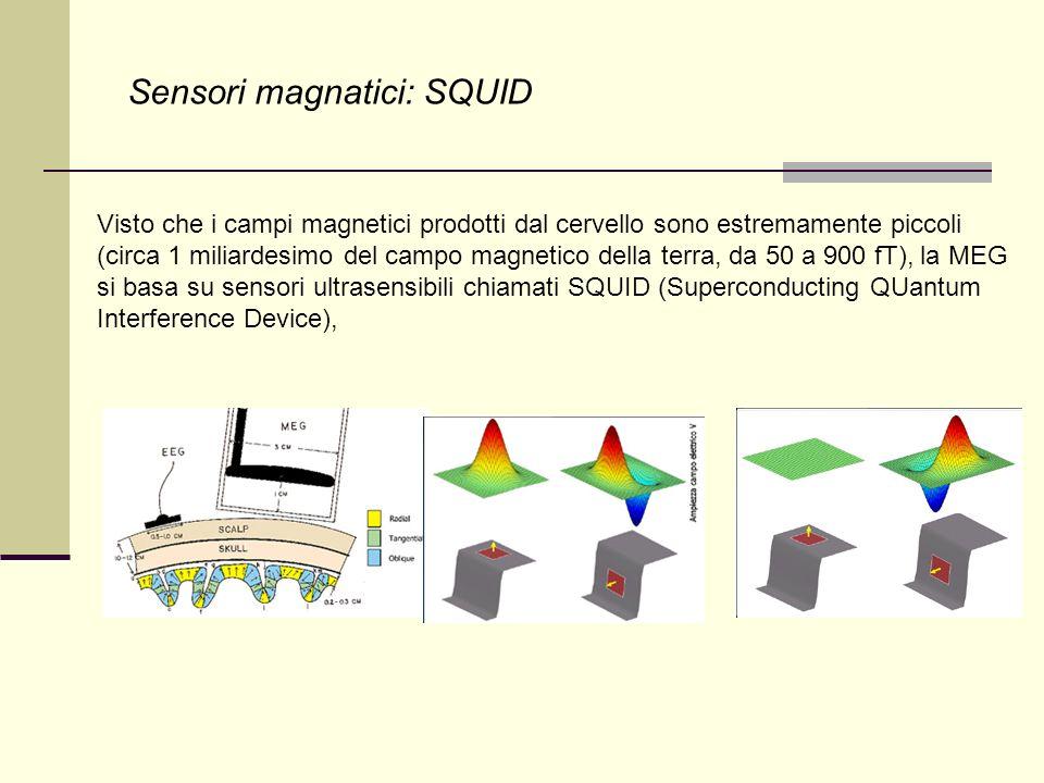 Sensori magnatici: SQUID