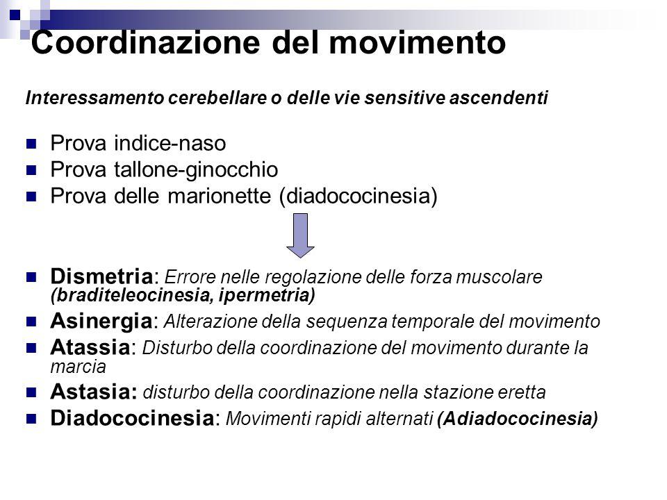 Coordinazione del movimento