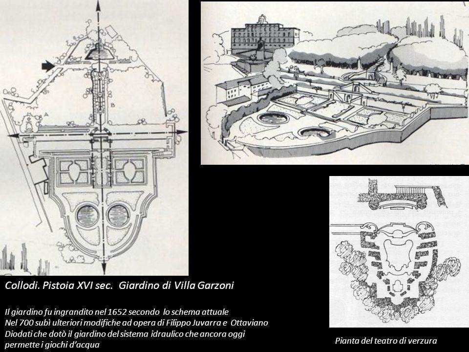 Collodi. Pistoia XVI sec. Giardino di Villa Garzoni