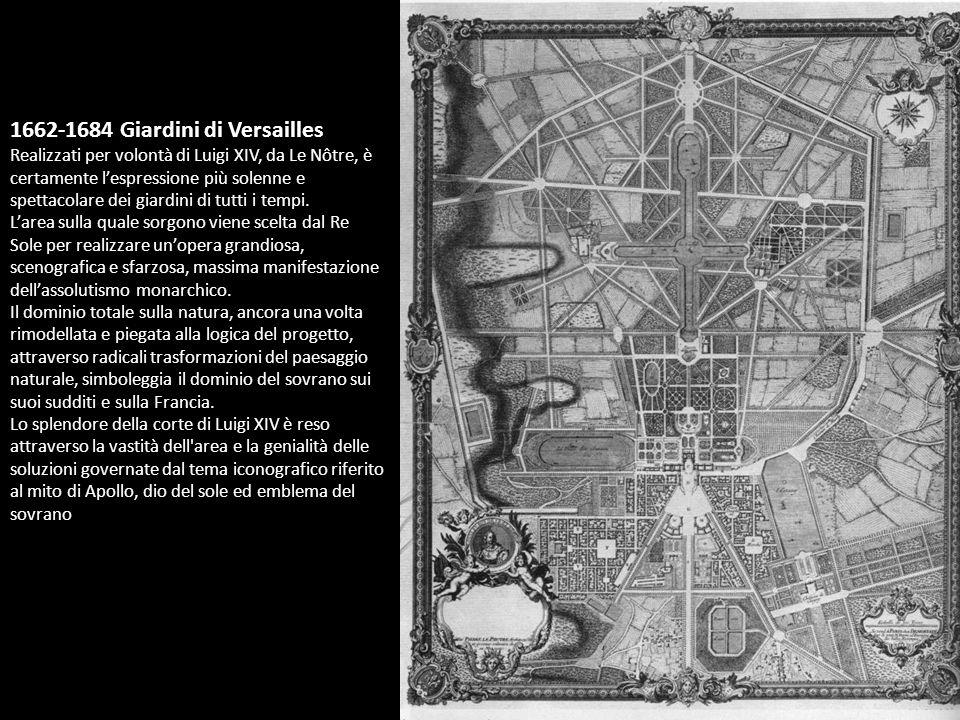 1662-1684 Giardini di Versailles