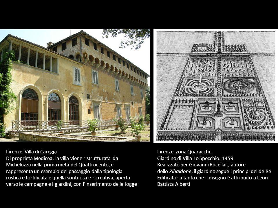 Firenze. Villa di Careggi
