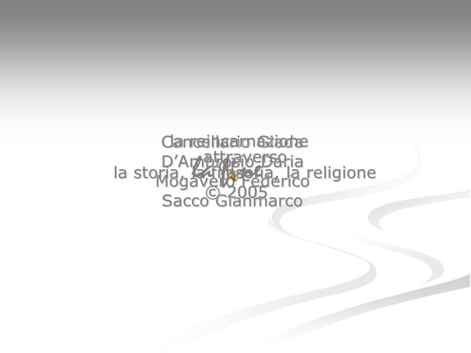 Cancellario Giada D'Ambrosio Daria Mogavero Federico Sacco Gianmarco