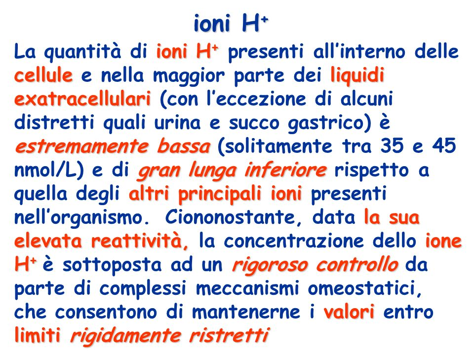 ioni H+