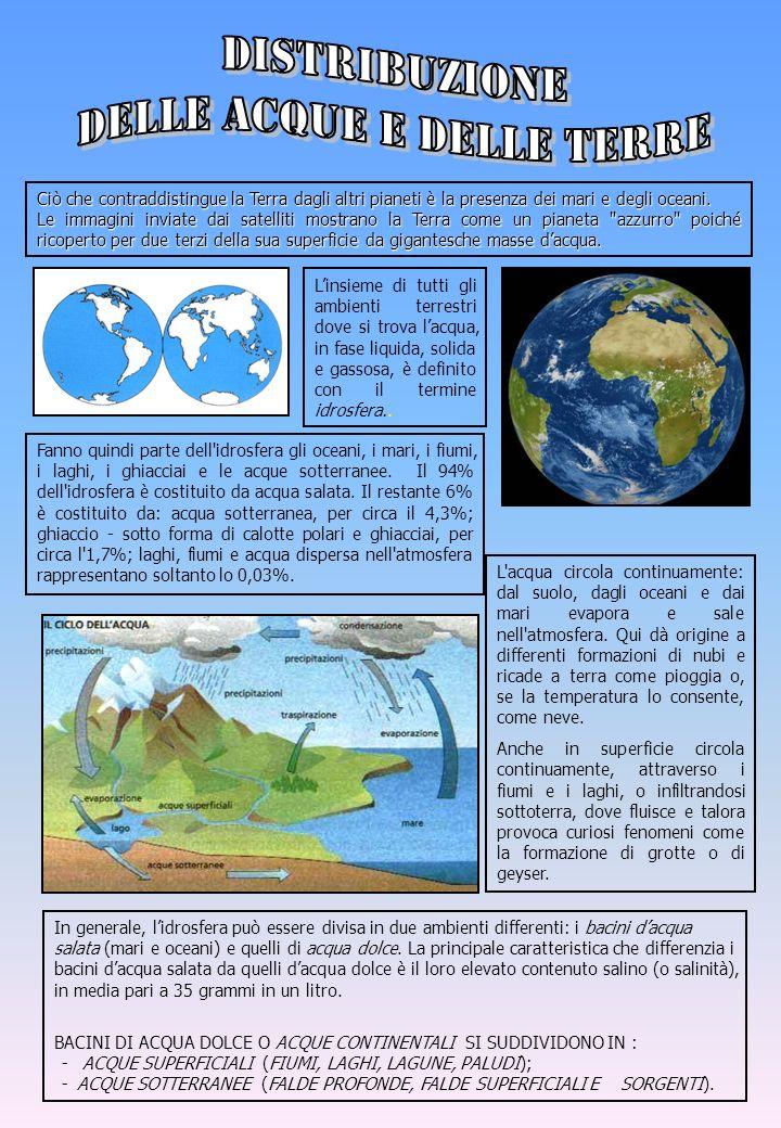 delle acque e delle terre