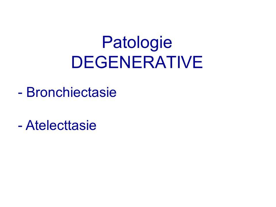Patologie DEGENERATIVE