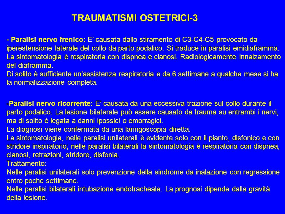 TRAUMATISMI OSTETRICI-3