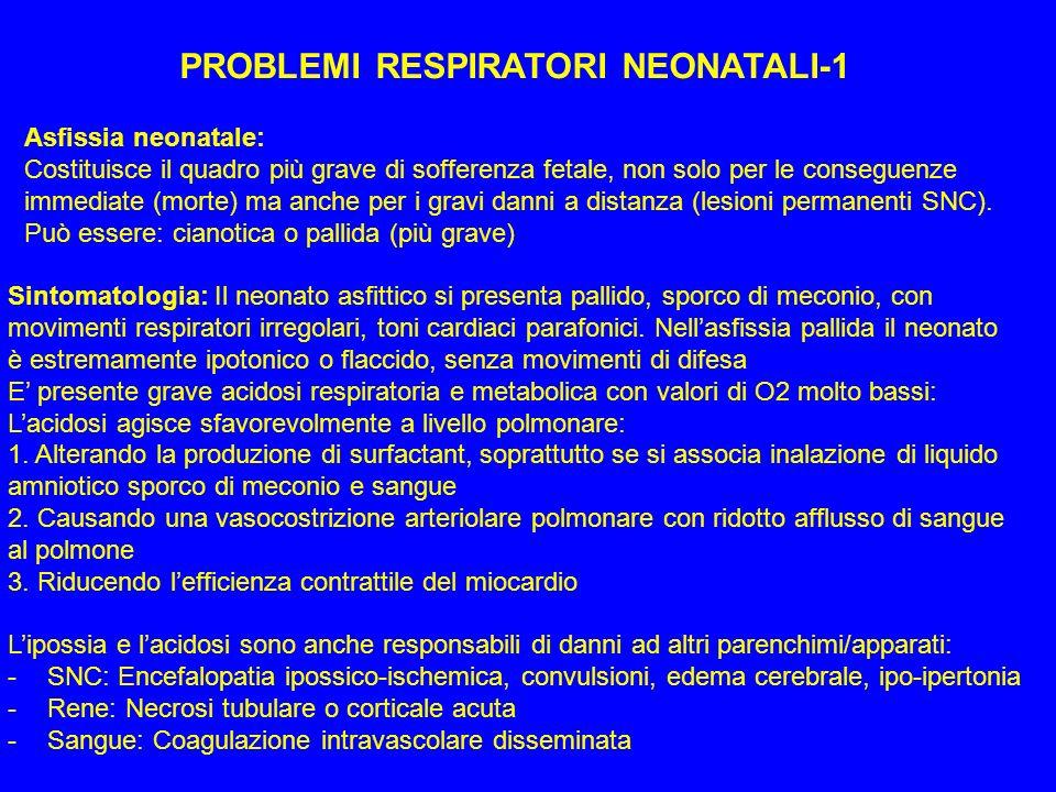 PROBLEMI RESPIRATORI NEONATALI-1