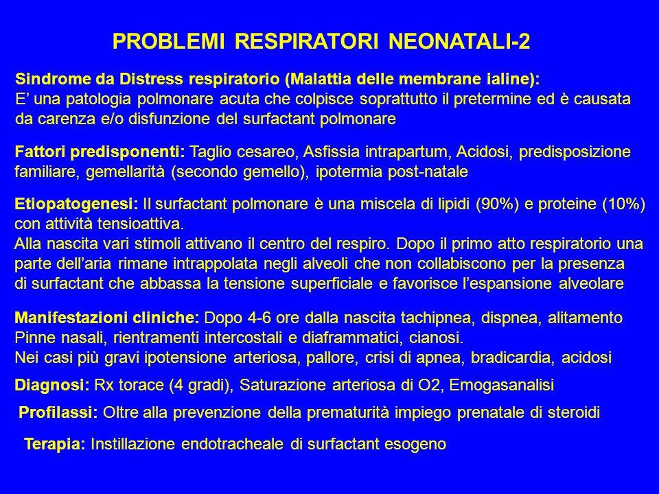 PROBLEMI RESPIRATORI NEONATALI-2