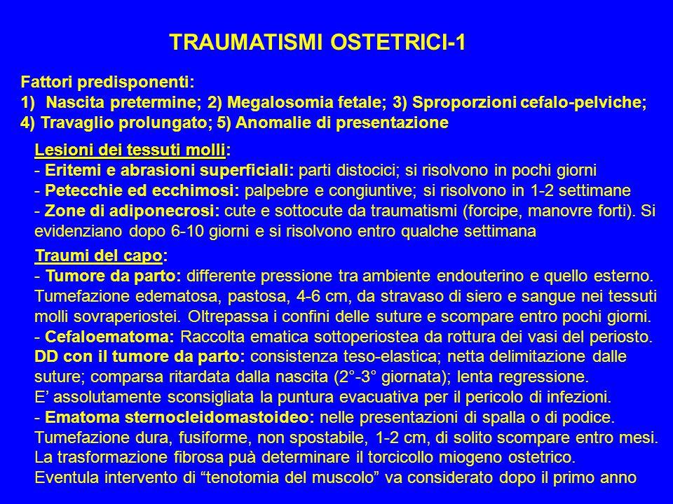 TRAUMATISMI OSTETRICI-1