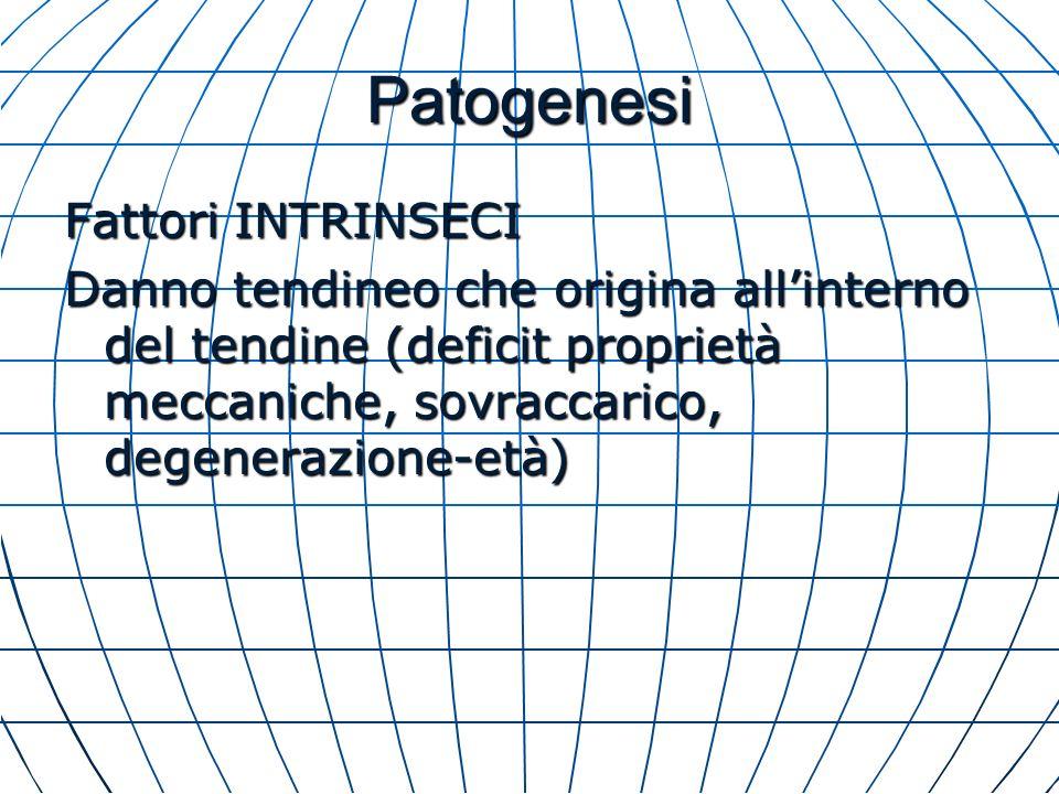 Patogenesi Fattori INTRINSECI