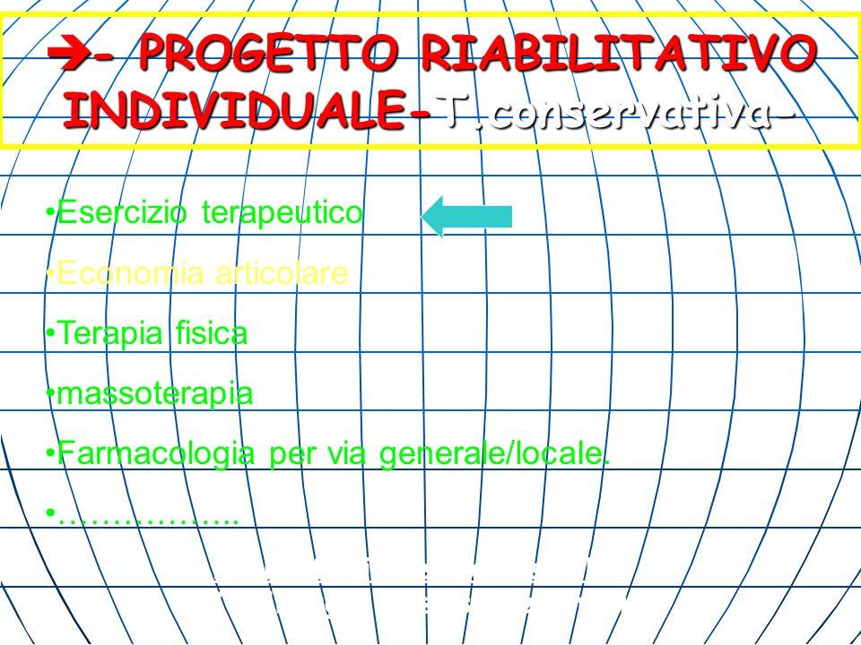 - PROGETTO RIABILITATIVO INDIVIDUALE-T.conservativa-
