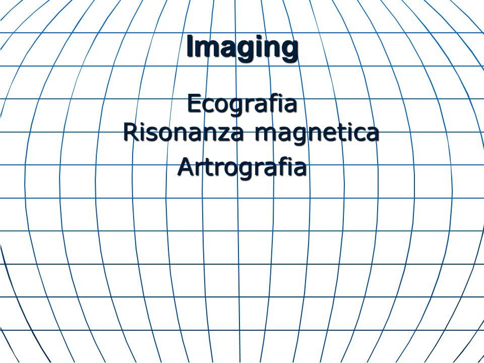 Ecografia Risonanza magnetica