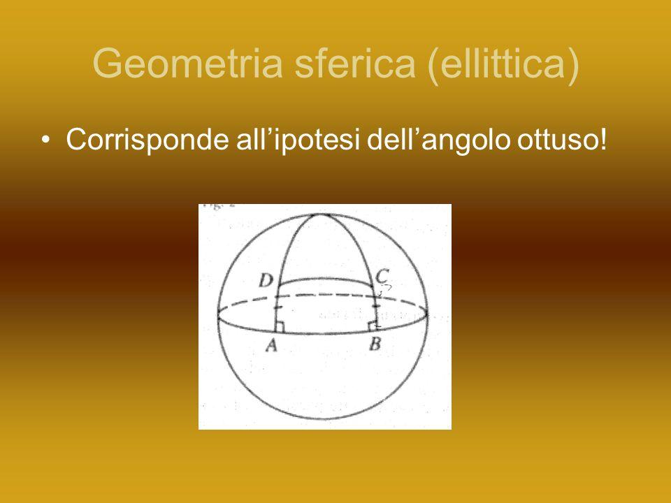Geometria sferica (ellittica)