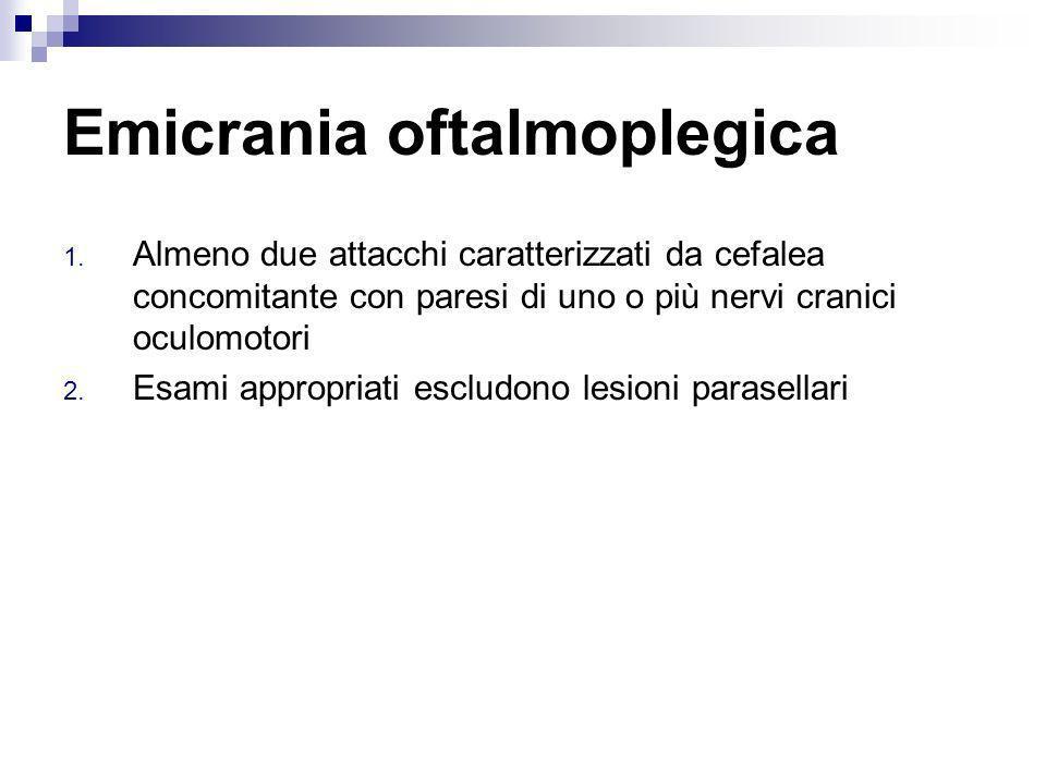 Emicrania oftalmoplegica