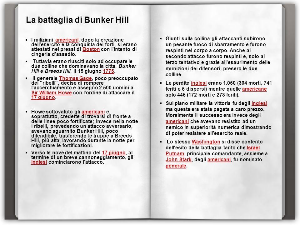 La battaglia di Bunker Hill
