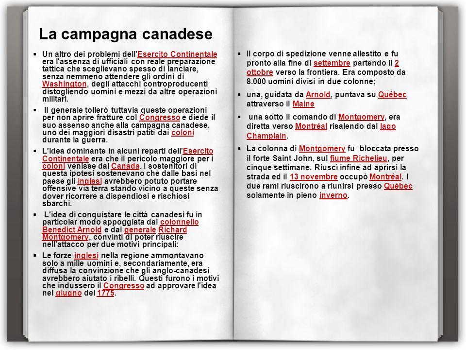 La campagna canadese