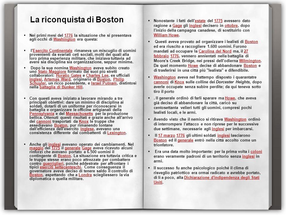 La riconquista di Boston