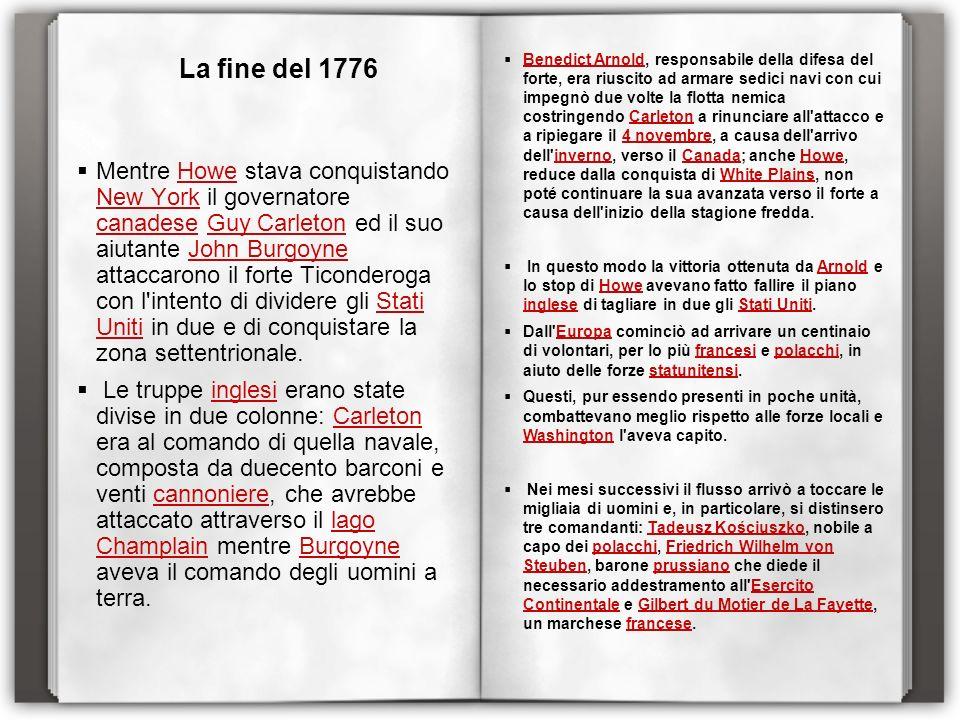 La fine del 1776