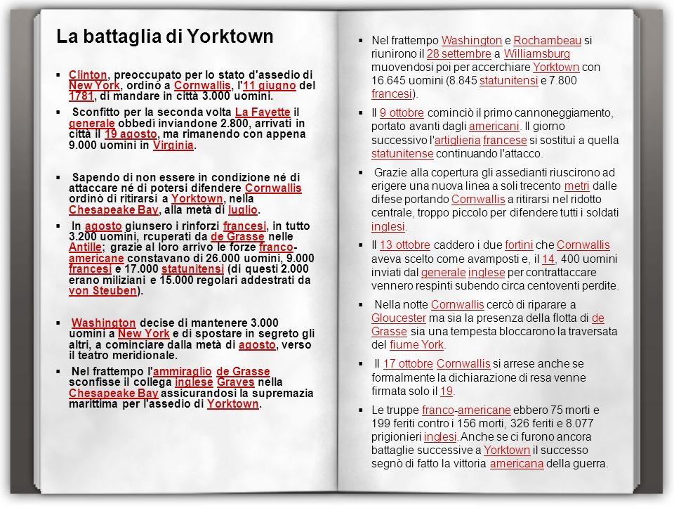La battaglia di Yorktown