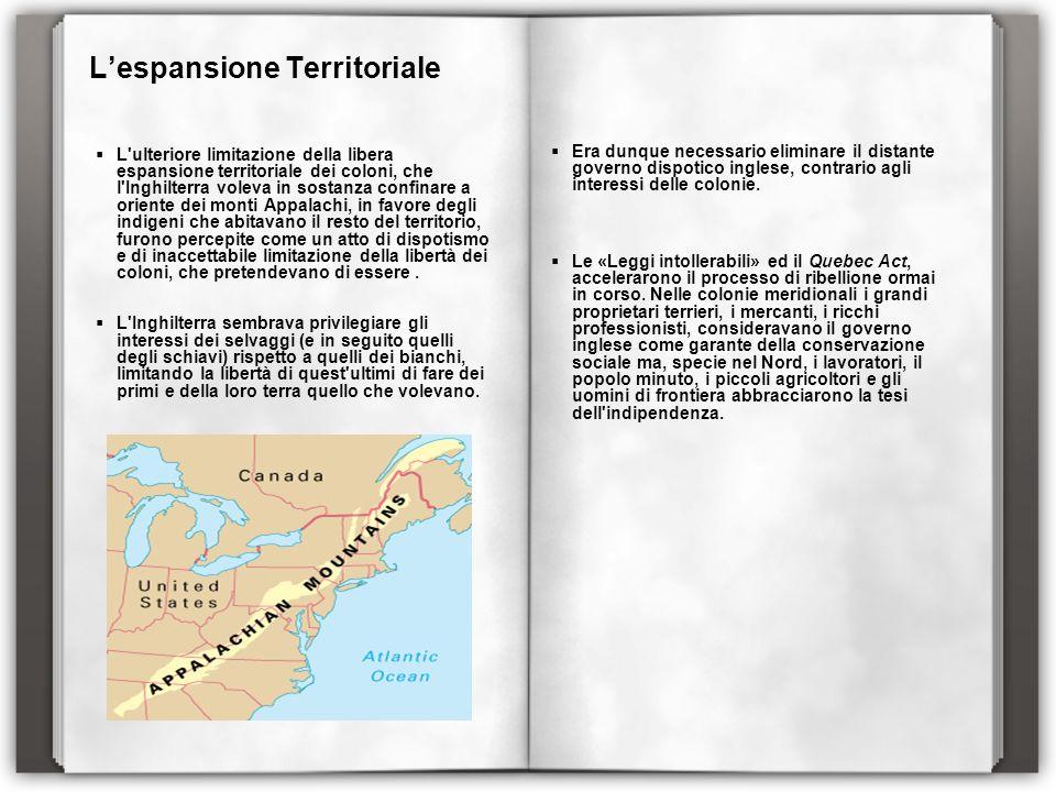 L'espansione Territoriale