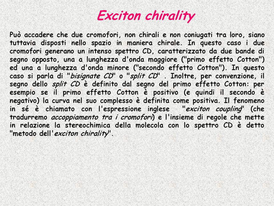 Exciton chirality