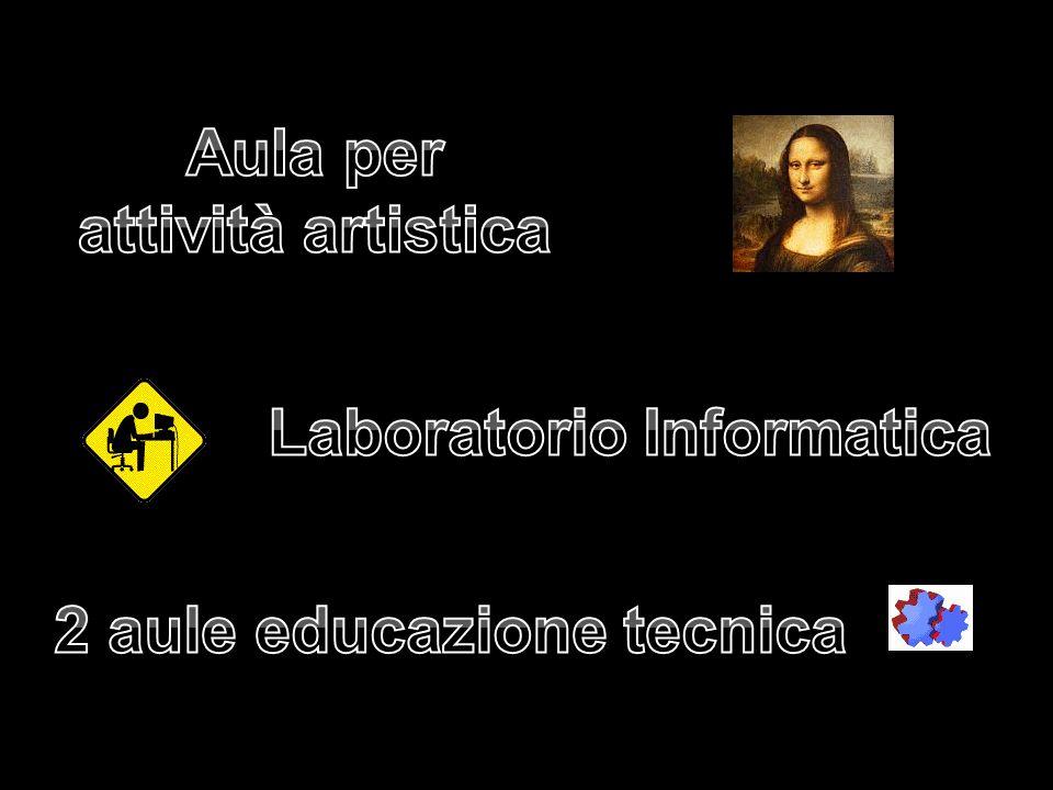 Laboratorio Informatica 2 aule educazione tecnica