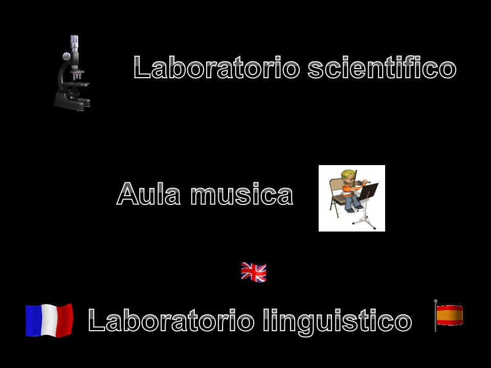 Laboratorio scientifico Laboratorio linguistico