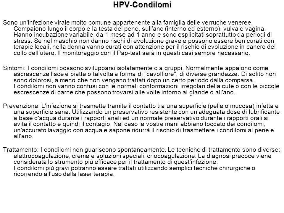 HPV-Condilomi