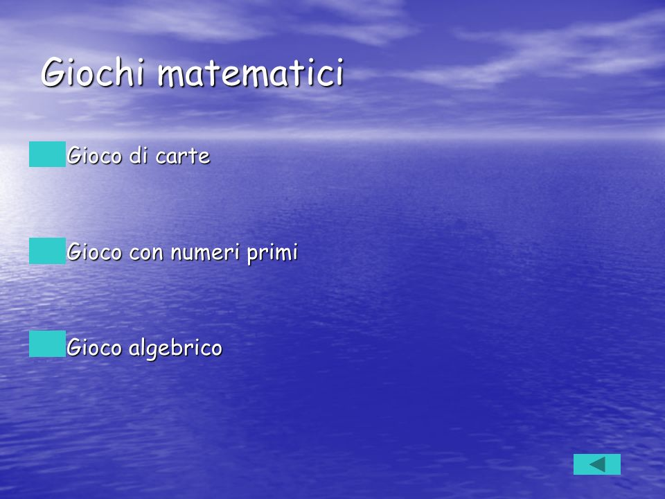 Giochi matematici Gioco di carte Gioco con numeri primi