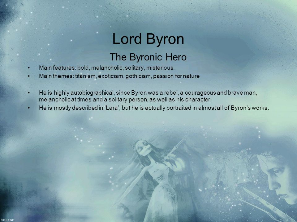 Mary Shelley's Frankenstein and Lord Byron's Manfred as Byronic Heroes