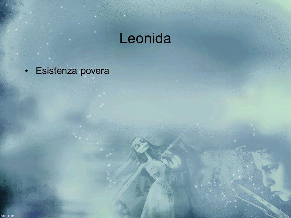 Leonida Esistenza povera