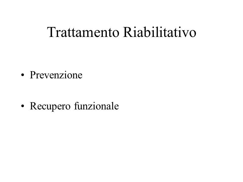 Trattamento Riabilitativo