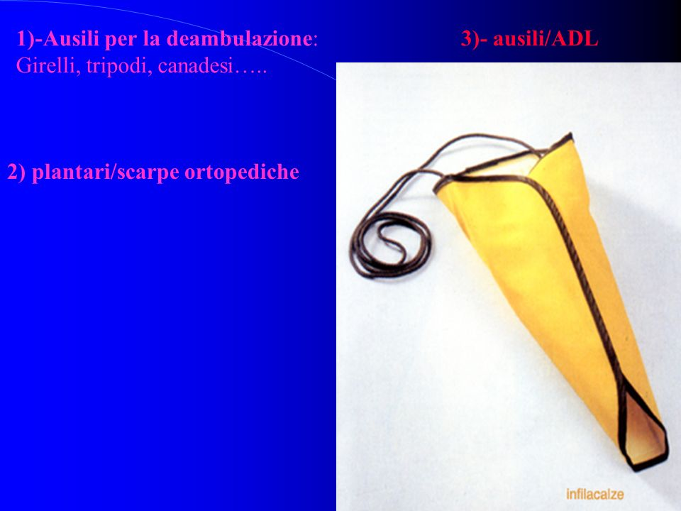 1)-Ausili per la deambulazione: