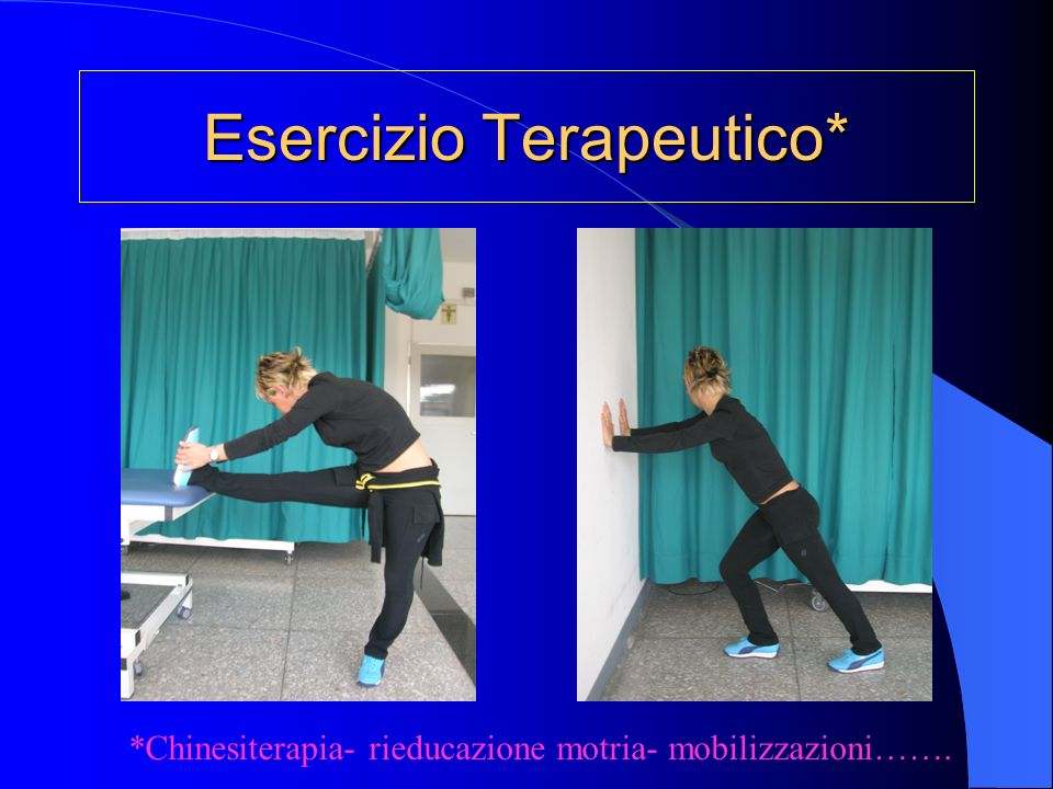 Esercizio Terapeutico*