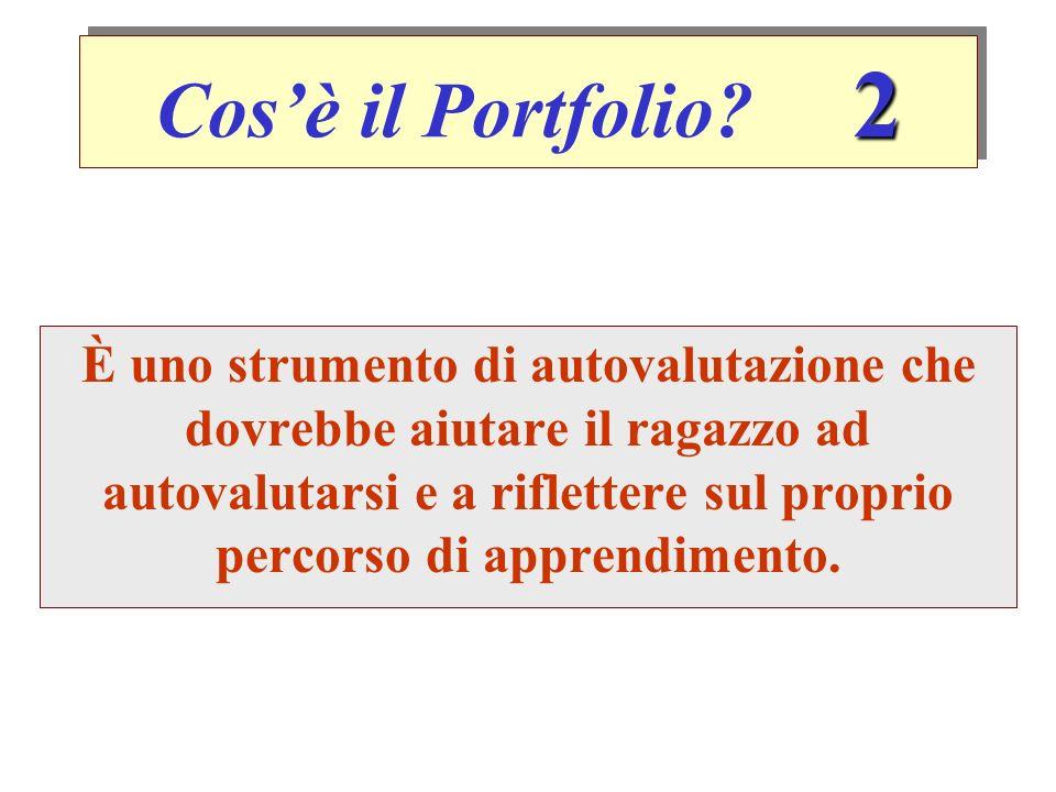Cos'è il Portfolio 2