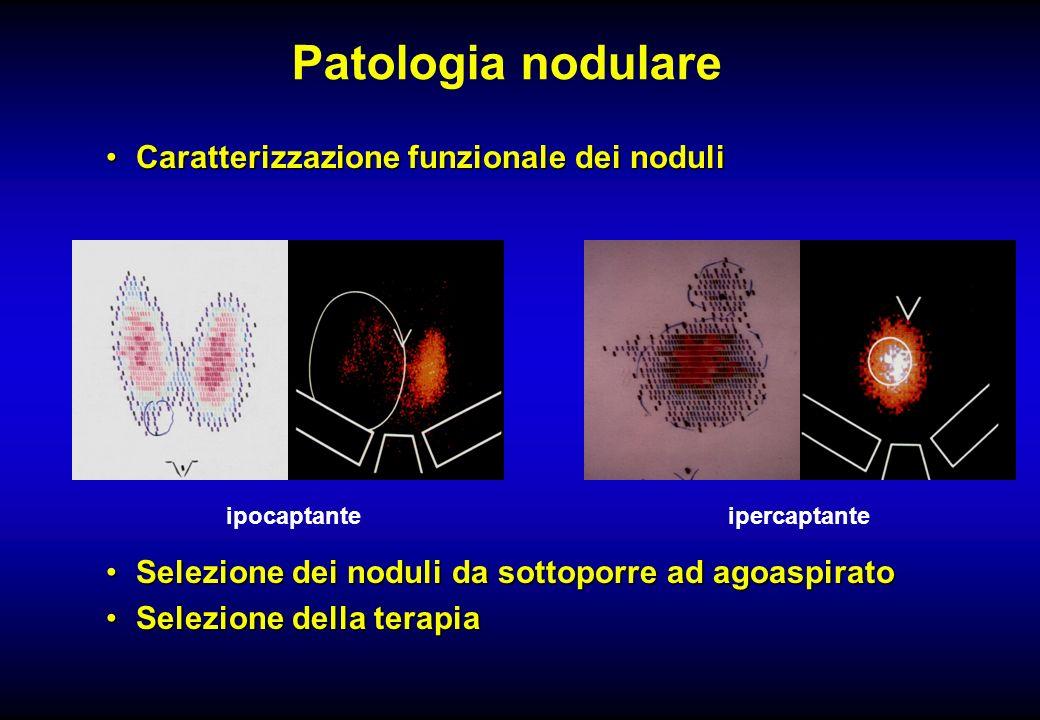 Patologia nodulare Caratterizzazione funzionale dei noduli
