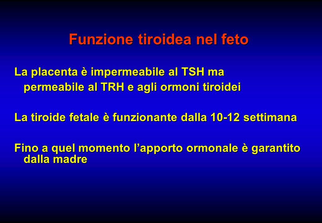Funzione tiroidea nel feto