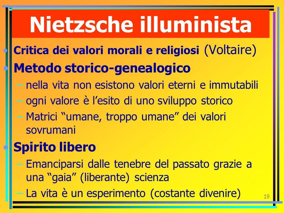 Nietzsche illuminista