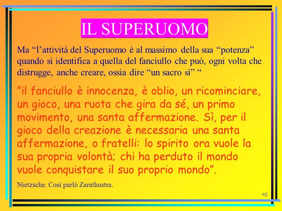 IL SUPERUOMO