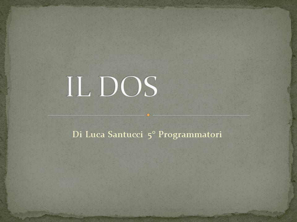 Di Luca Santucci 5° Programmatori