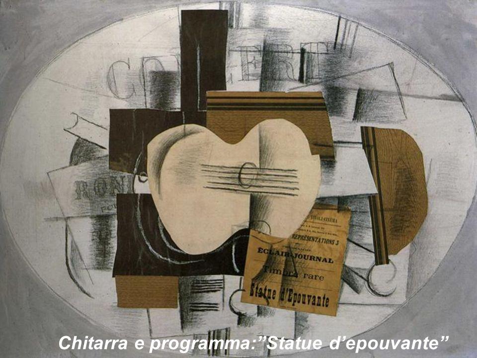 Chitarra e programma: Statue d'epouvante