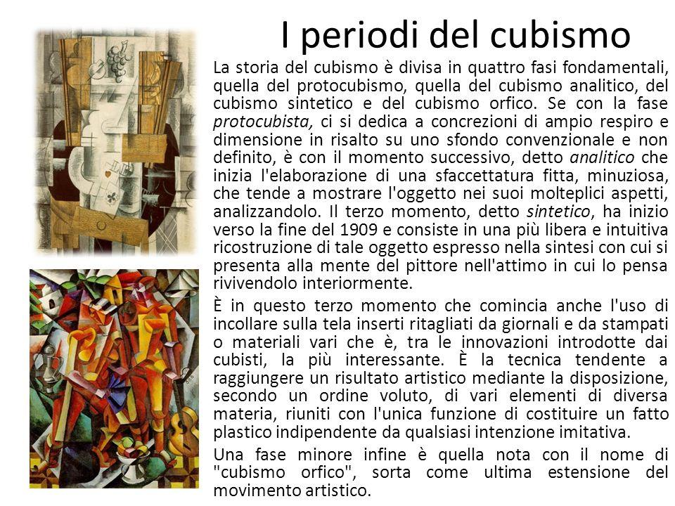 I periodi del cubismo