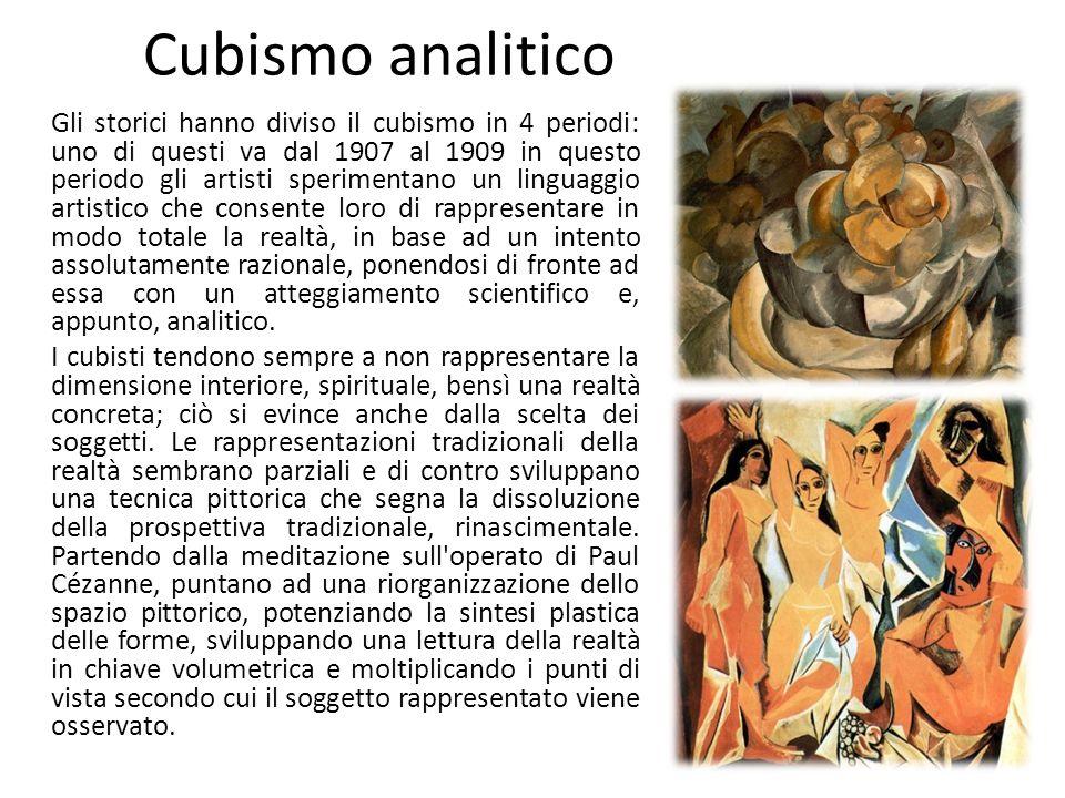 Cubismo analitico