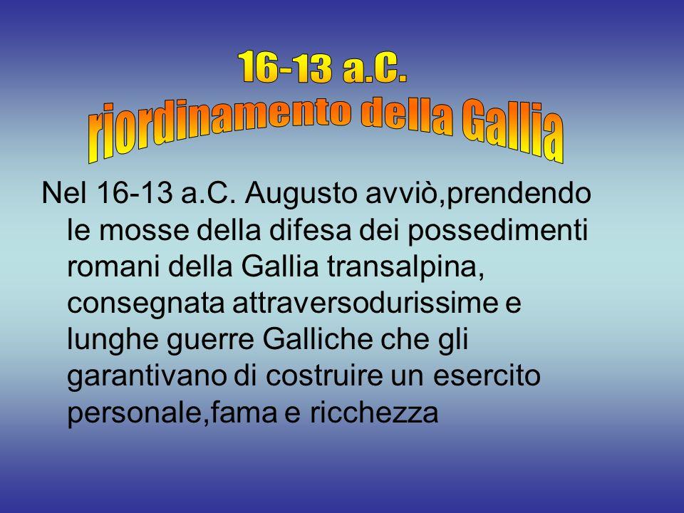 riordinamento della Gallia