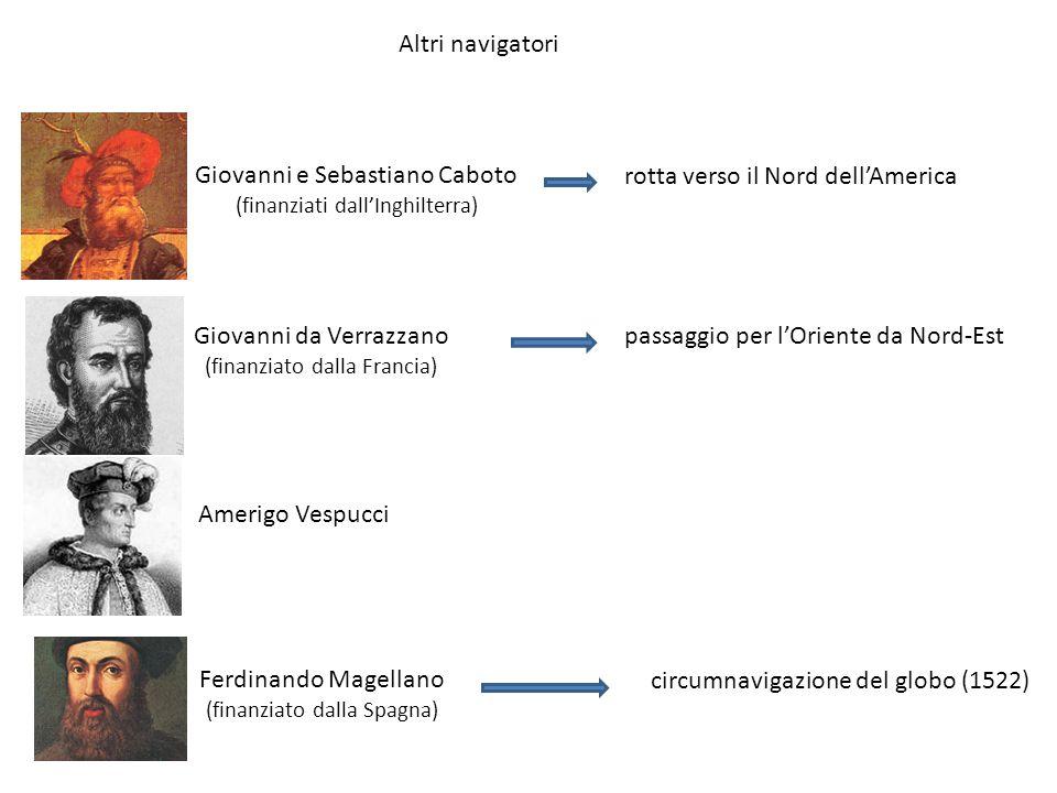 Giovanni e Sebastiano Caboto rotta verso il Nord dell'America