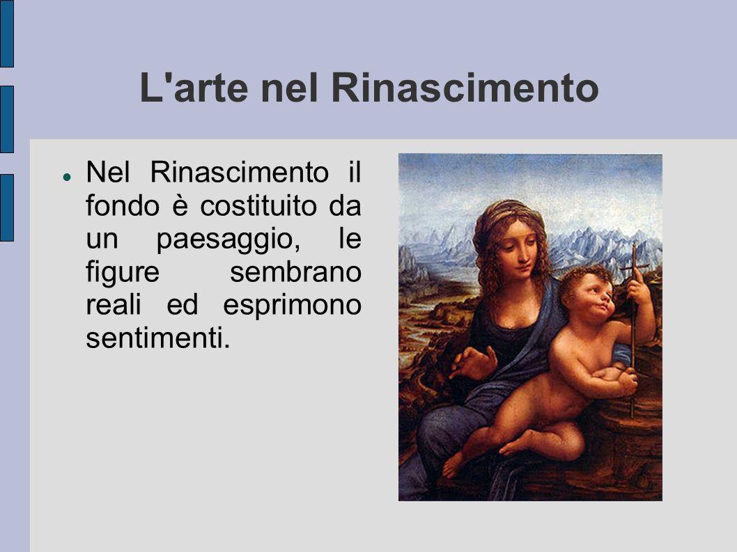 L arte nel Rinascimento
