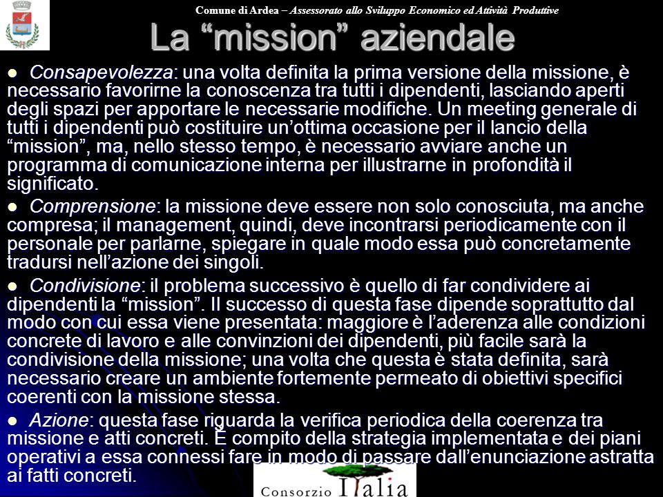 La mission aziendale
