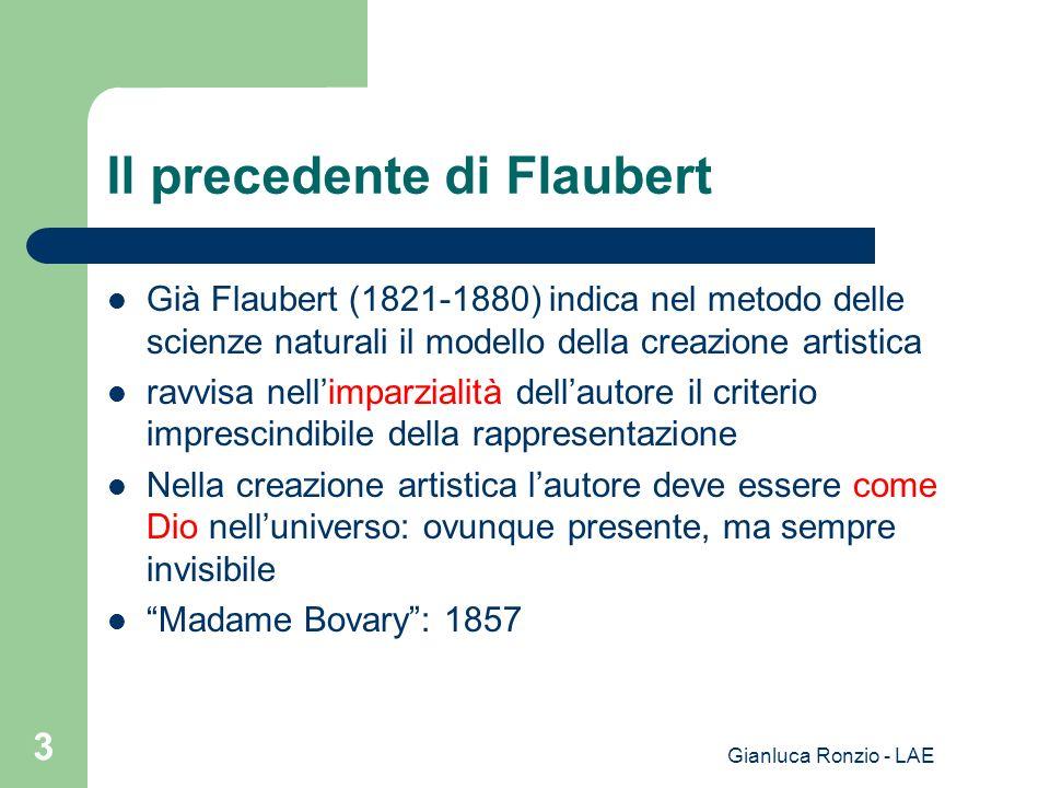 Il precedente di Flaubert