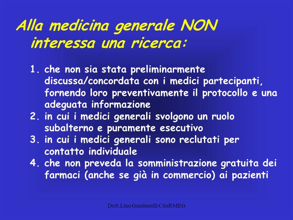 Dott.Lino Gambarelli CSeRMEG